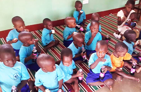 Children born in Luzira-prisons